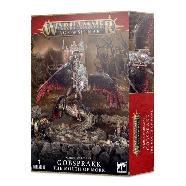Age of Sigmar Orruk Warclans: Gobsprakk The Mouth Of Mork