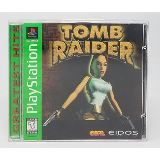 Tomb Raider (Playstation 1 Greatest Hits, OPEN CASE)