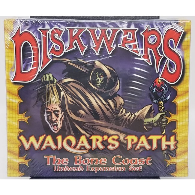 DiskWars: Waiqar's Path - The Bone Coast (Undead Expansion Set)