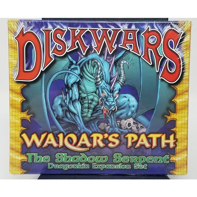 DiskWars: Waiqar's Path - The Shadow Serpent (Dragonkin Expansion Set)