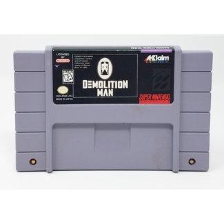 SNES Demolition Man (Super Nintendo, Loose Cartridge)