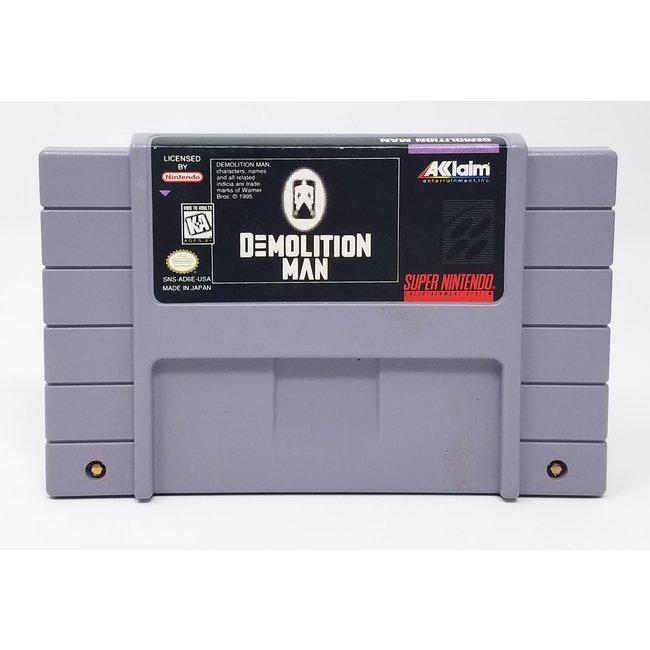 Demolition Man (Super Nintendo, Loose Cartridge)