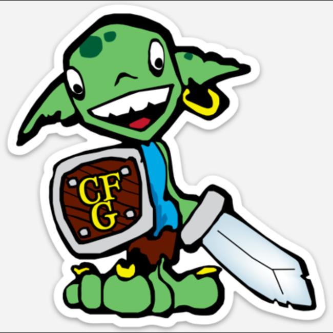 CFG Goblin Sticker 4 inch