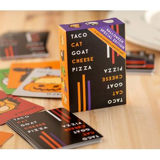 Dolphin Hat Games Taco Cat Goat Cheese Pizza Halloween Edition