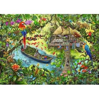 Ravensburger Jungle Journey Escape Puzzle Kids 368 pc Puzzle