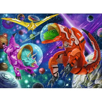 Ravensburger Space Dinosaurs - 200 pc Puzzle
