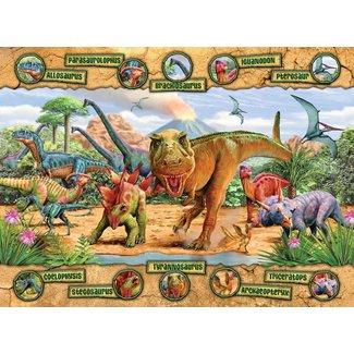 Ravensburger Dinosaurs - 100pc