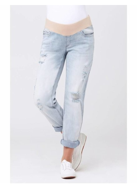 Ripe 'Baxter' Boyfriend Jeans in Clean Fade (Medium) **FINAL SALE**