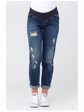 Ripe 'Baxter' Boyfriend Jeans In Indigo Fade