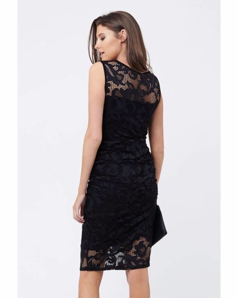 Ripe Ripe Maternity Black 'Eden' Lace Dress