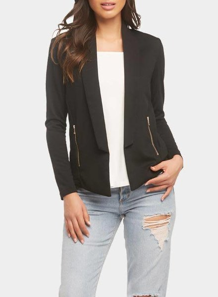 Tart Collections Black 'Nisha' Blazer