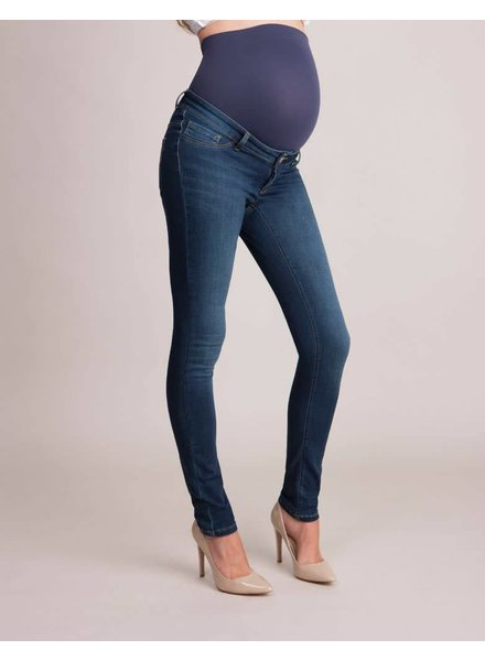 Seraphine Maternity 'Penny' Over the Bump Skinny Jeans (Size 8)