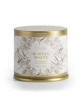 Illume Candles Noble Holiday Large Tin Candle in Winter White