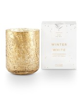 Illume Candles Small Luxe Mercury Glass Candle in Winter White