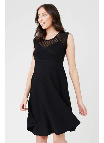 Ripe 'Chrysler' Knit Skater Dress (Extra Small) **FINAL SALE**