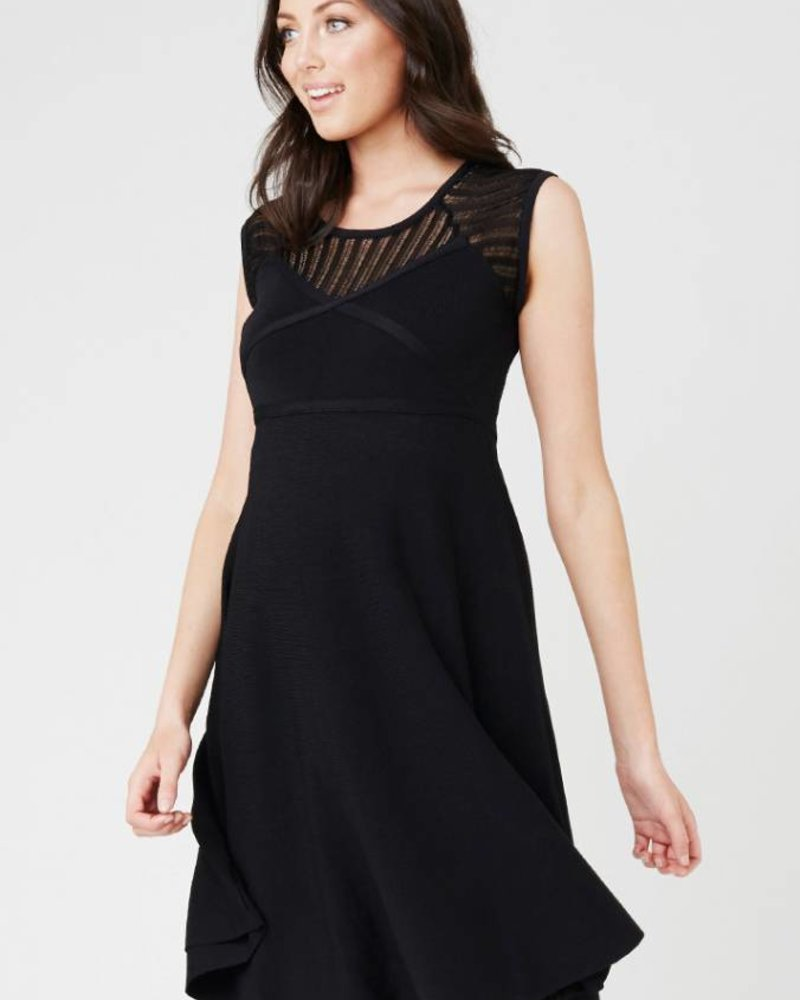 Ripe Ripe Maternity 'Chrysler' Knit Skater Dress (Extra Small) **FINAL SALE**