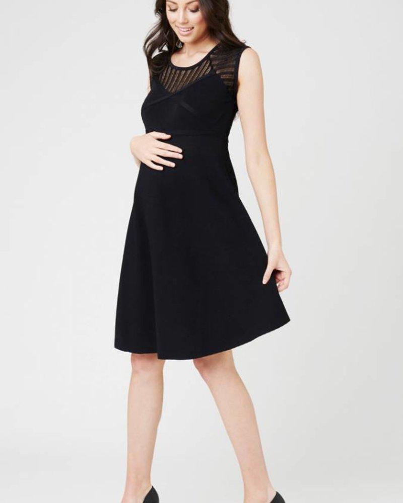 Ripe Ripe Maternity 'Chrysler' Knit Skater Dress (Extra Small) **FINAL SALE**