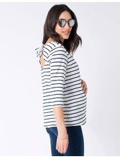 Seraphine Maternity 'Genesis' Tie Back Top (Small) **FINAL SALE**