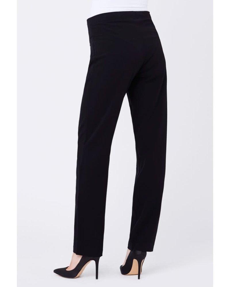 Ripe Ripe Maternity Black 'Lancaster' Straight Leg Pant (Extra Small)