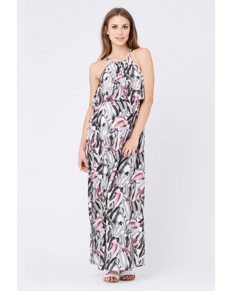 Ripe Ripe Maternity 'Kresna' Halter Nursing Dress (Large) **FINAL SALE**
