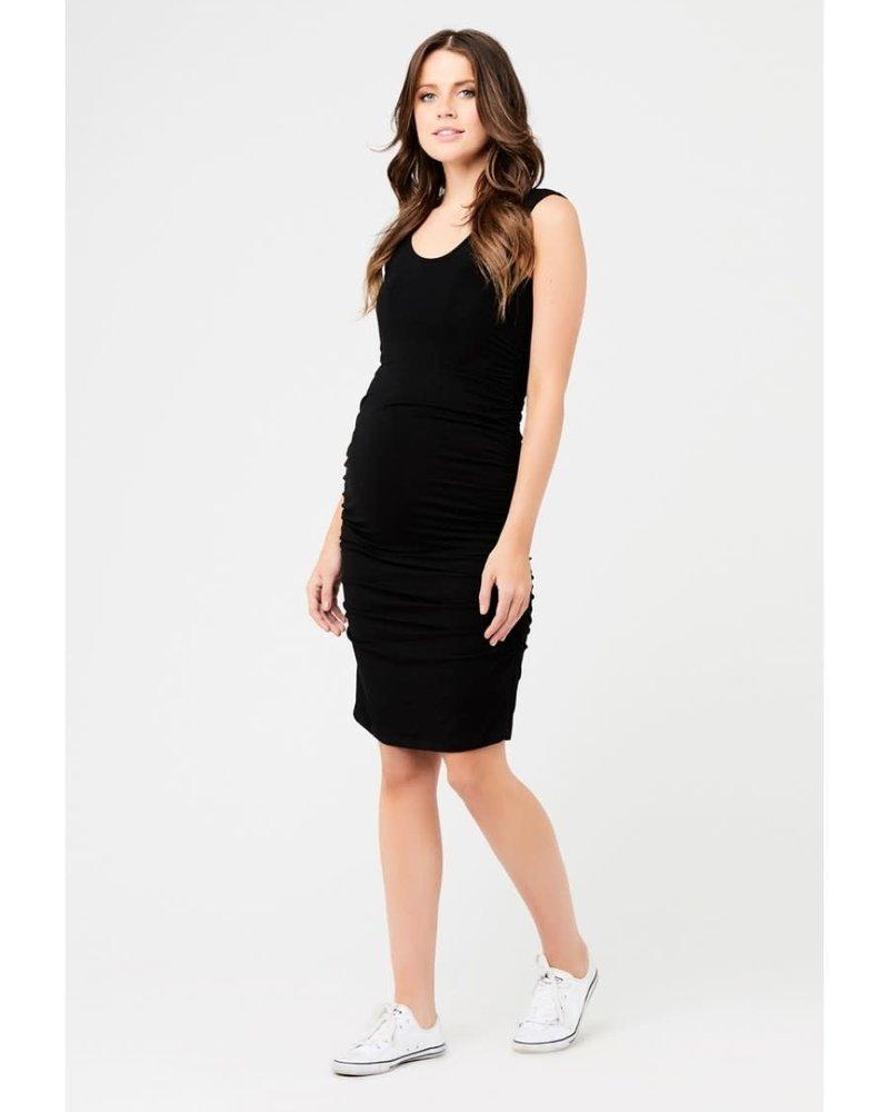 Ripe Ripe Maternity Black 'Cocoon' Tank Dress