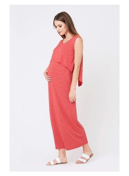 Ripe Lava 'Swing Back' Nursing Maxi Dress