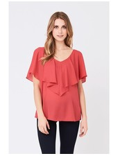 Ripe 'Waterfall' Nursing Top