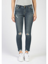 Articles of Society 'Suzy' Cropped Skinny Jean in Turks