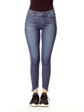Articles of Society 'Suzy' Cropped Skinny Jean in Cougar