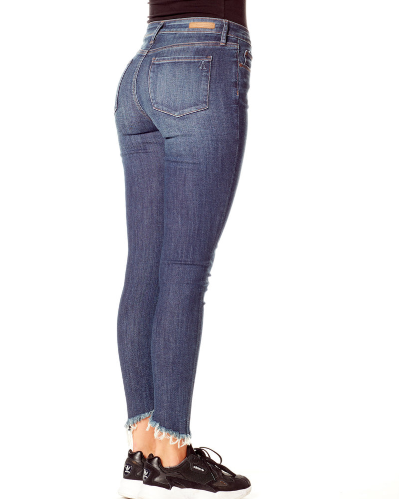 Articles of Society Articles of Society 'Suzy' Cropped Skinny Jean in Cougar