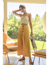 J.O.A. 'All This Room' Wide Leg Trousers