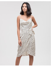 J.O.A. 'Connect the Dots' Slip Dress