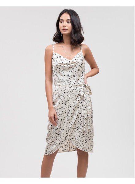 J.O.A. 'Connect the Dots' Slip Dress