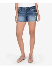 Kut from the Kloth 'Gidget' Frayed Shorts in Openminded