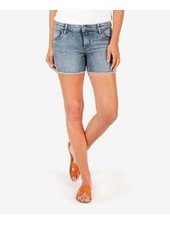 Kut from the Kloth 'Gidget' Frayed Shorts in Reflective (Size 2) **FINAL SALE**