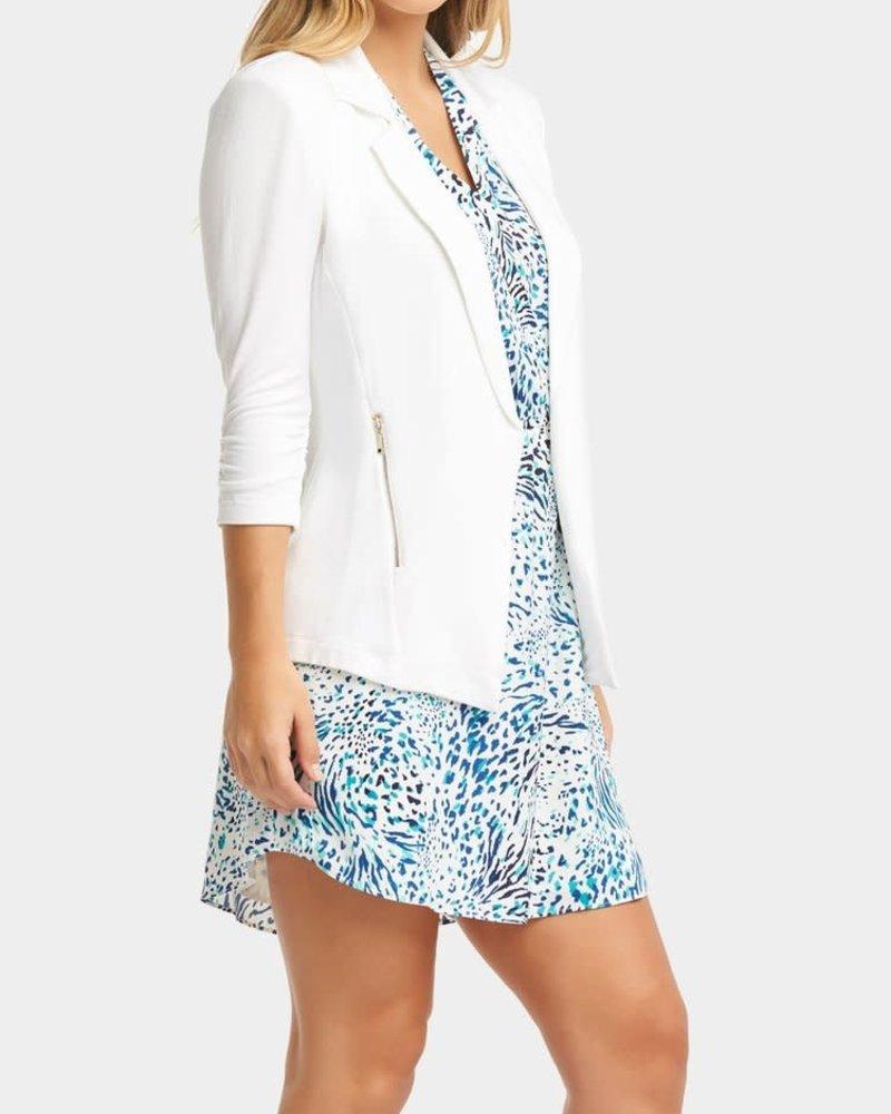 Tart Collections Tart Collections White 'Nicki' Blazer **FINAL SALE**