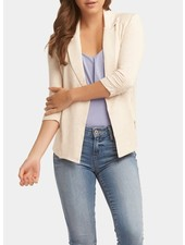 Tart Collections Heathered Oatmeal 'Nicki' Blazer