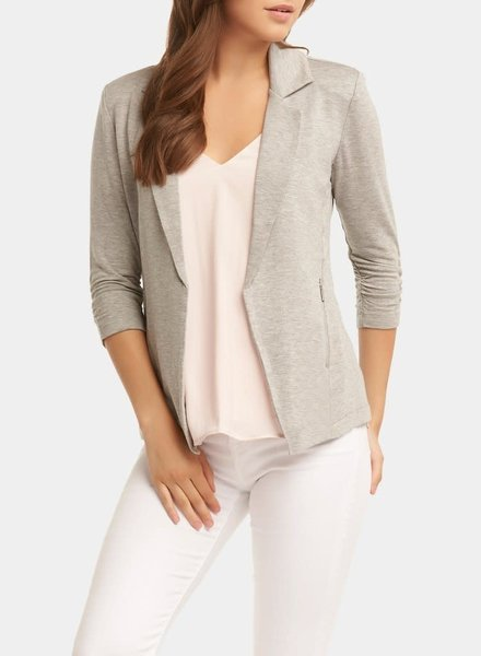 Tart Collections Heather Grey 'Nicki' Blazer (Small)