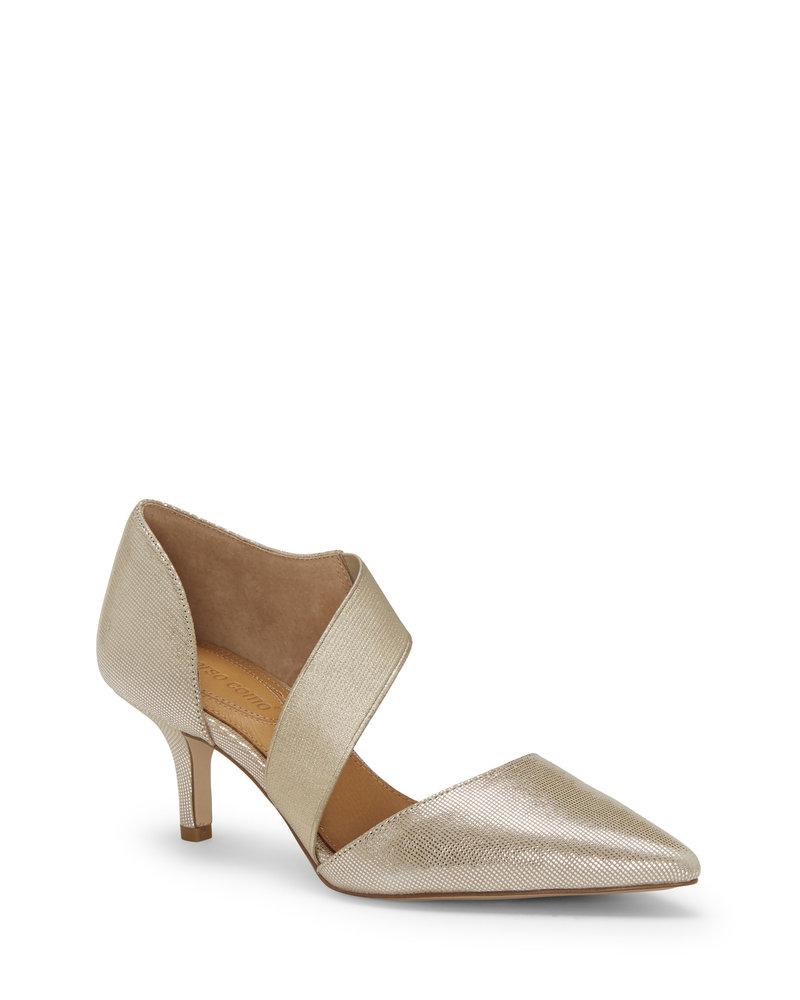 Corso Como Corso Como 'Denice' Heels in Champagne Disco Metallic **FINAL SALE**