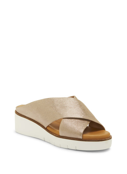 Corso Como 'Brunna' Slip-On Sandals in Champagne