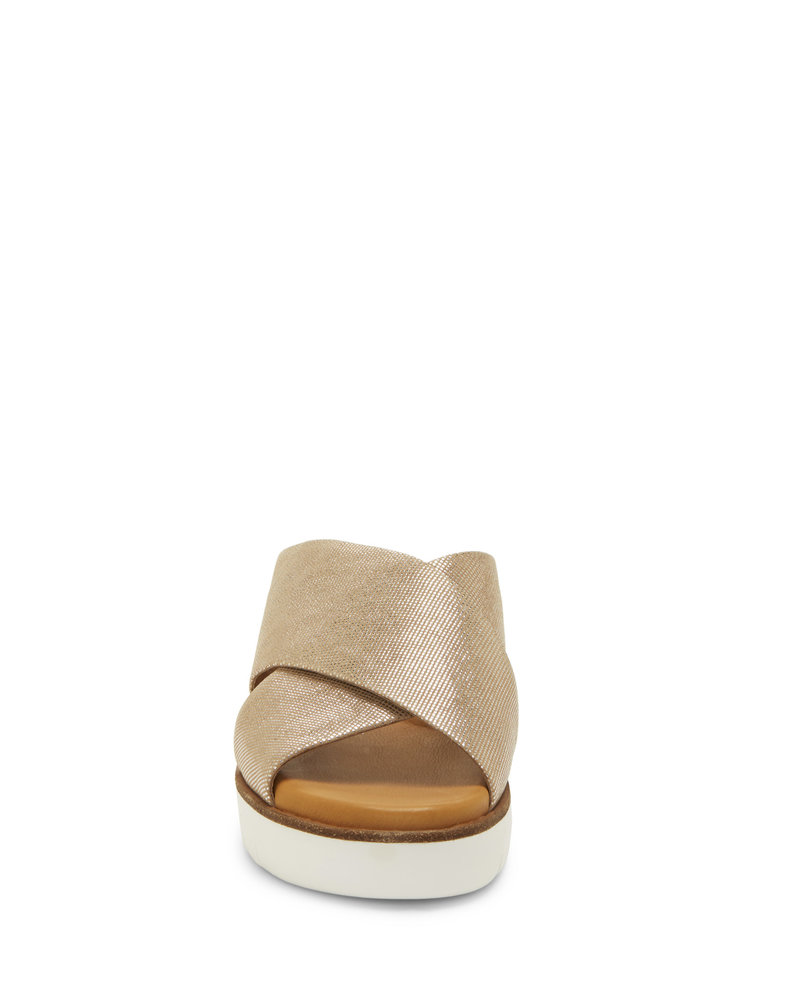 Corso Como Corso Como 'Brunna' Slip-On Sandals in Champagne **FINAL SALE**
