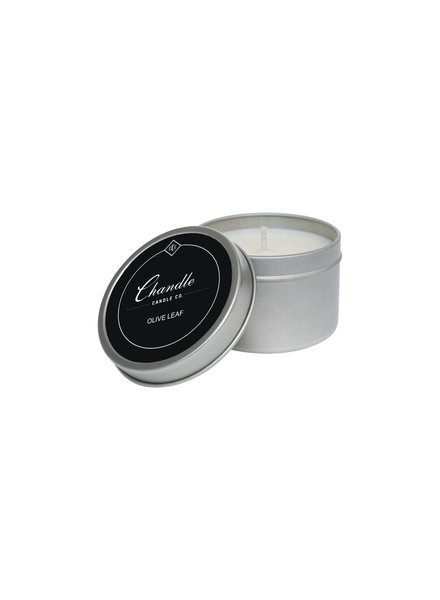 Chandler Candle Co. Olive Leaf Travel Tin