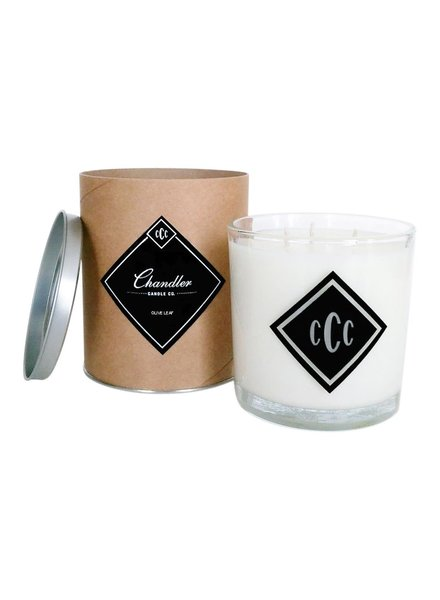 Chandler Candle Co. Olive Leaf 3-Wick Candle