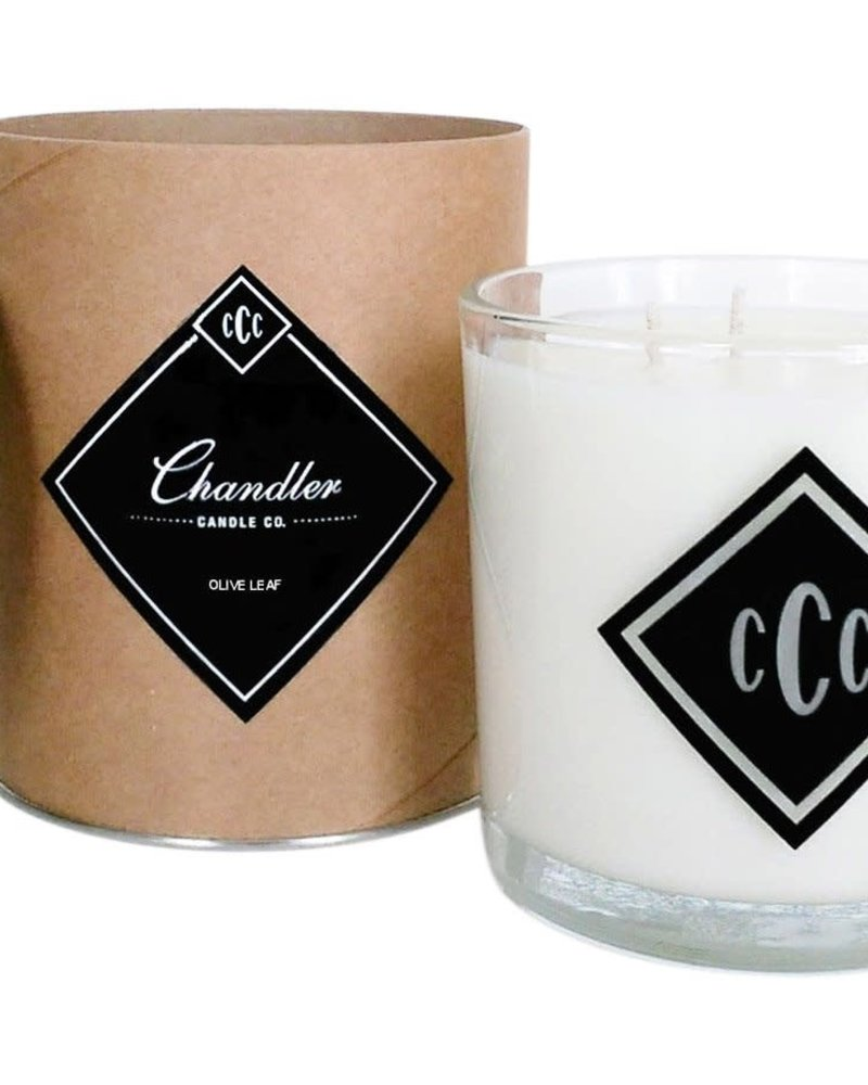 Chandler Candle Co. Chandler Candle Co Olive Leaf 3-Wick Candle
