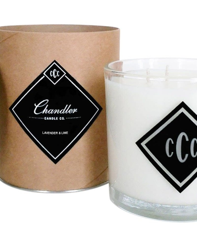 Chandler Candle Co. Chandler Candle Co Lavender & Lime 3-Wick Candle