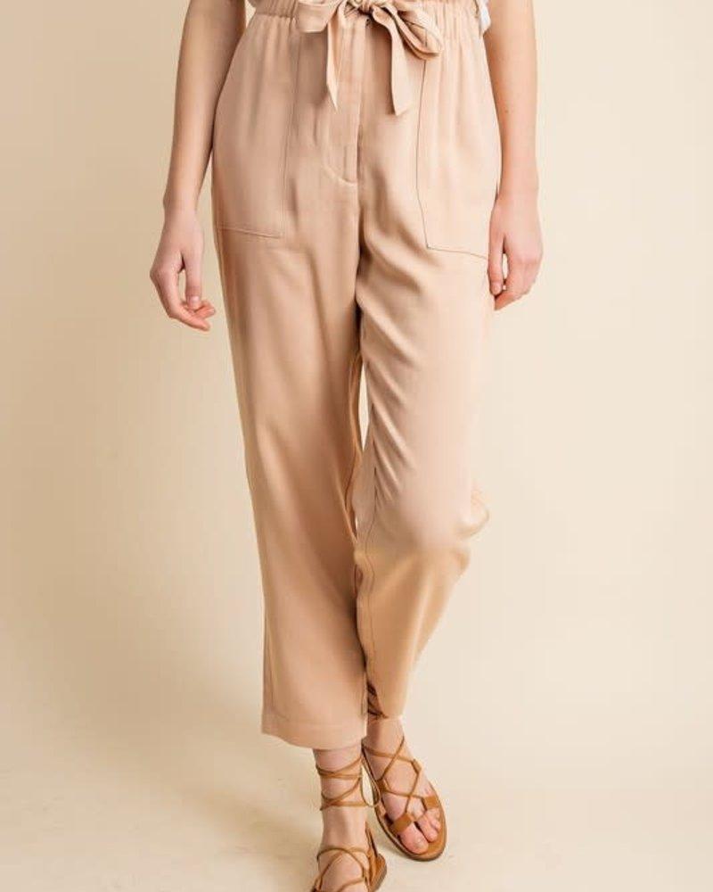 Gilli Gilli 'Sand Man' Tencel Paper Bag Pant