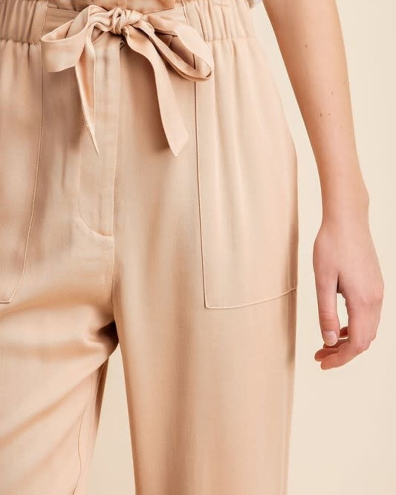 Gilli Gilli 'Sand Man' Tencel Paper Bag Pant (Large) **FINAL SALE**