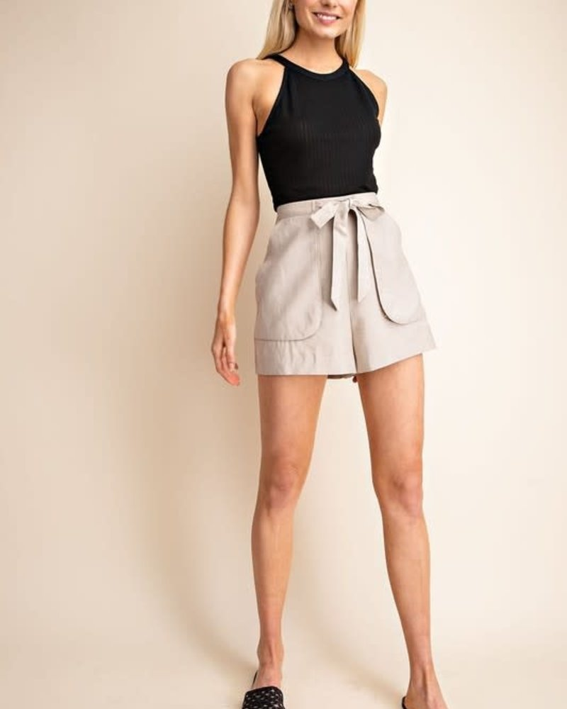 Gilli Gilli 'In The Jungle' Tie Front Shorts **FINAL SALE**