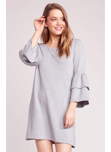 BB Dakota 'Lost In The Song' Ruffle Sleeve Dress