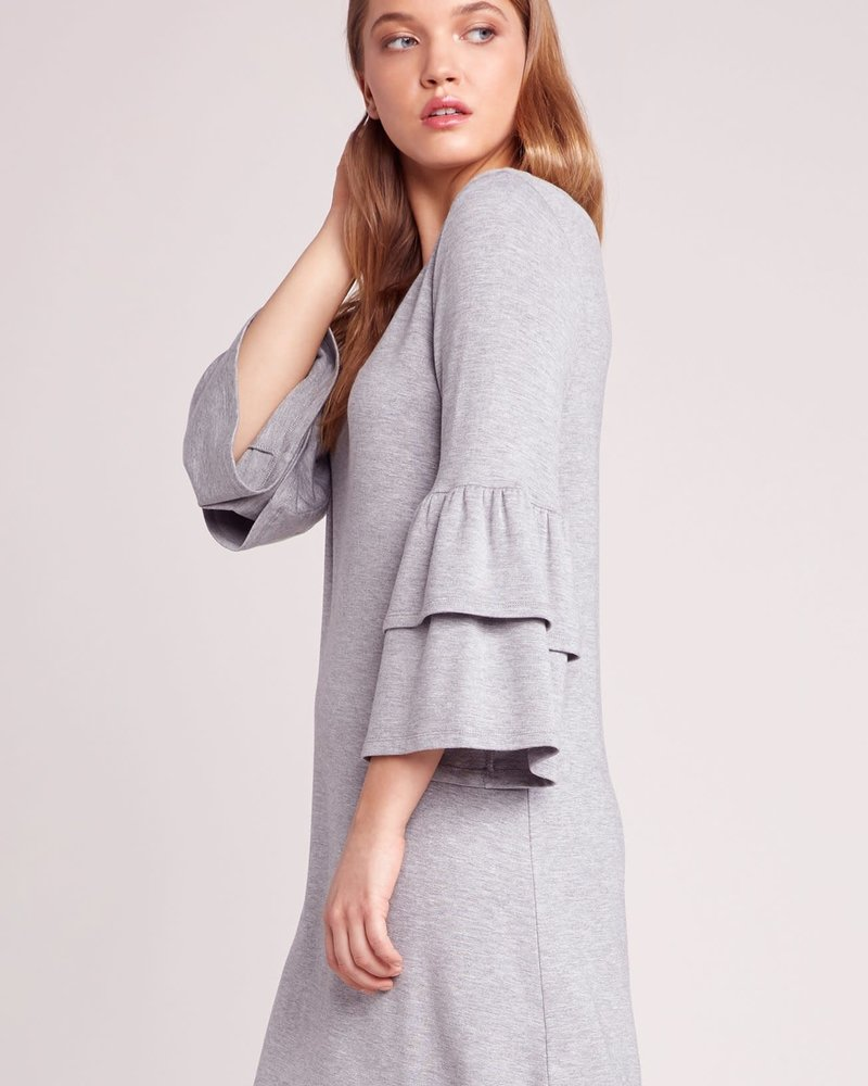 BB Dakota BB Dakota 'Lost In The Song' Ruffle Sleeve Dress